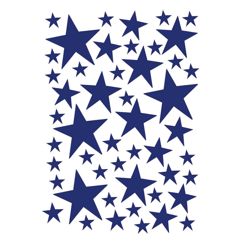 Ferm Living KIDS Mini Stars Wallsticker, Blue