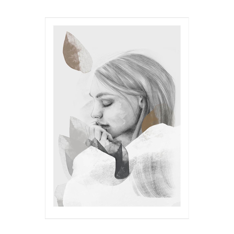 Anna Bülow Dreamer In White Juliste 30x40cm
