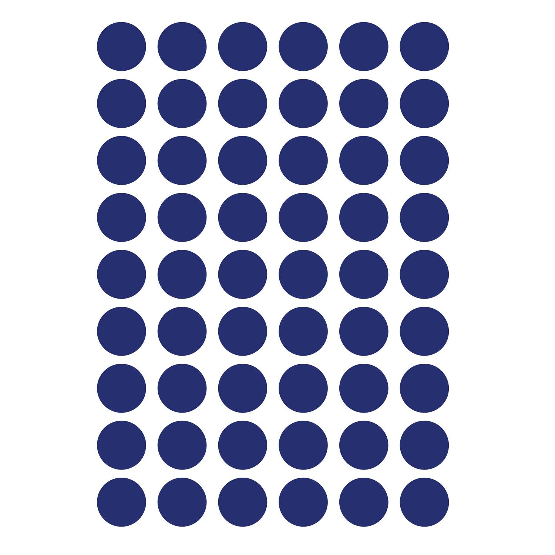 Ferm Living KIDS Mini Dots Wallsticker, Blue