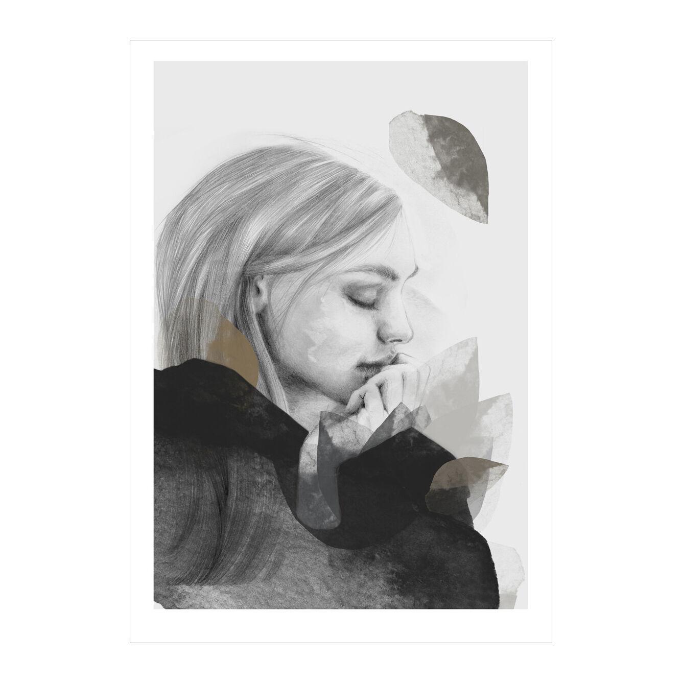 Anna Bülow Dreamer In Black Juliste 50x70cm