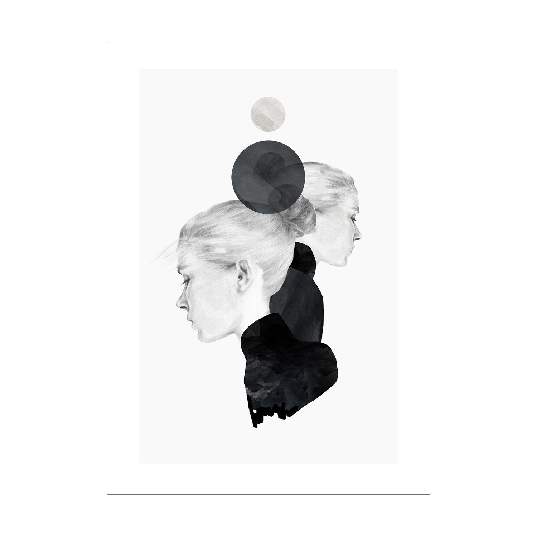 Anna Bülow Black Marble Juliste 30x40cm