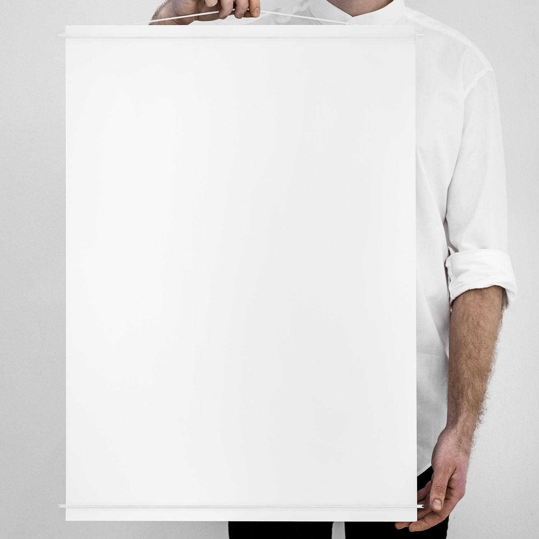 Moebe Julisteripustin 50x70, Valkoinen