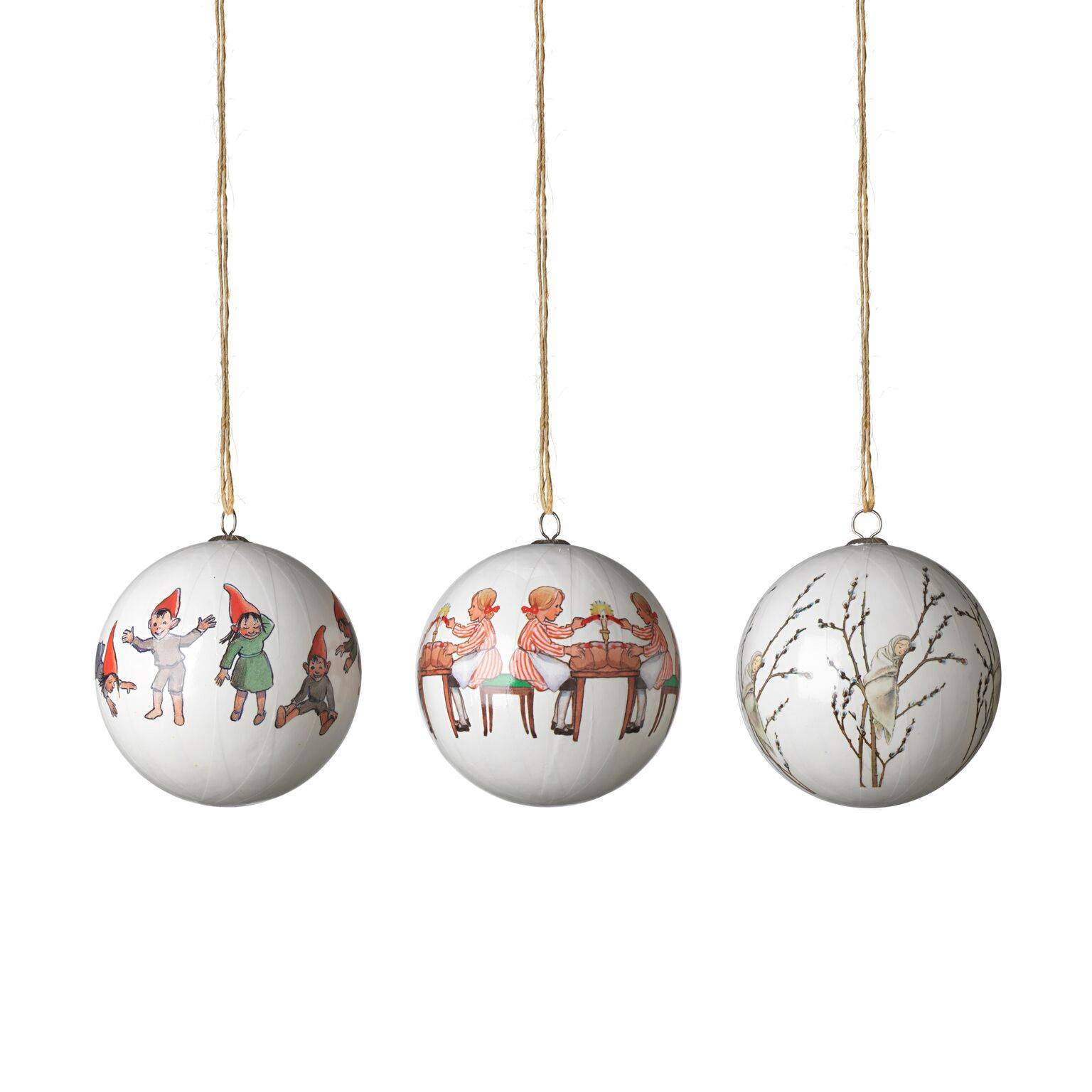 Design House Elsa Beskow Christmas Tree Ornaments, Little Willow & Co