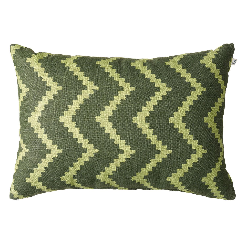 Chhatwal & Jonsson Ikat Sema Tyyny 40x60cm, Green/Cactus Green