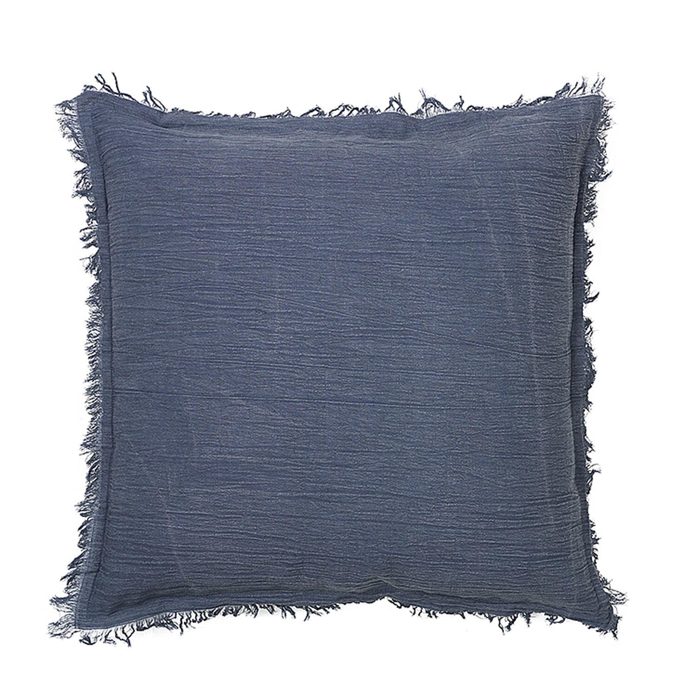 Broste Copenhagen Milas Cushion Cover, Blue