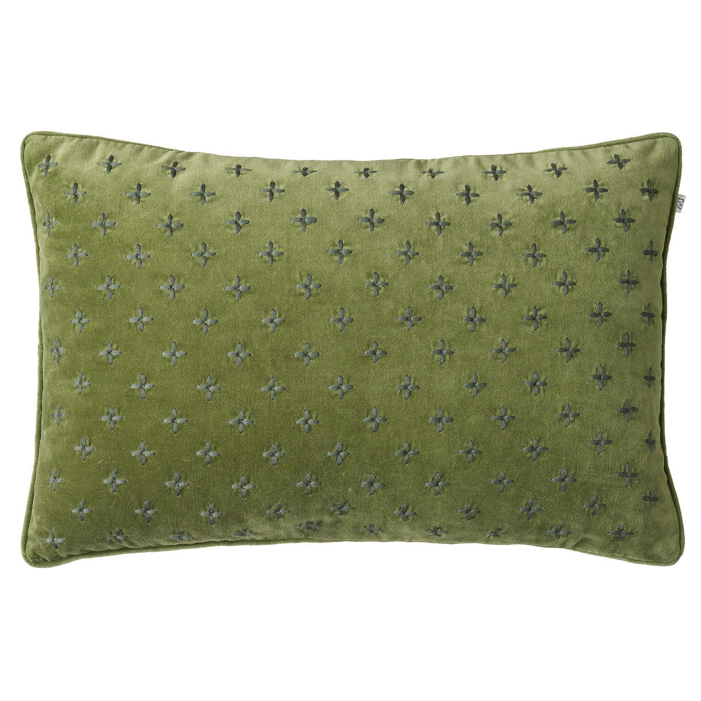 Chhatwal & Jonsson Cadi Velvet Tyynynpäällinen 40x60cm, Cactus/Green