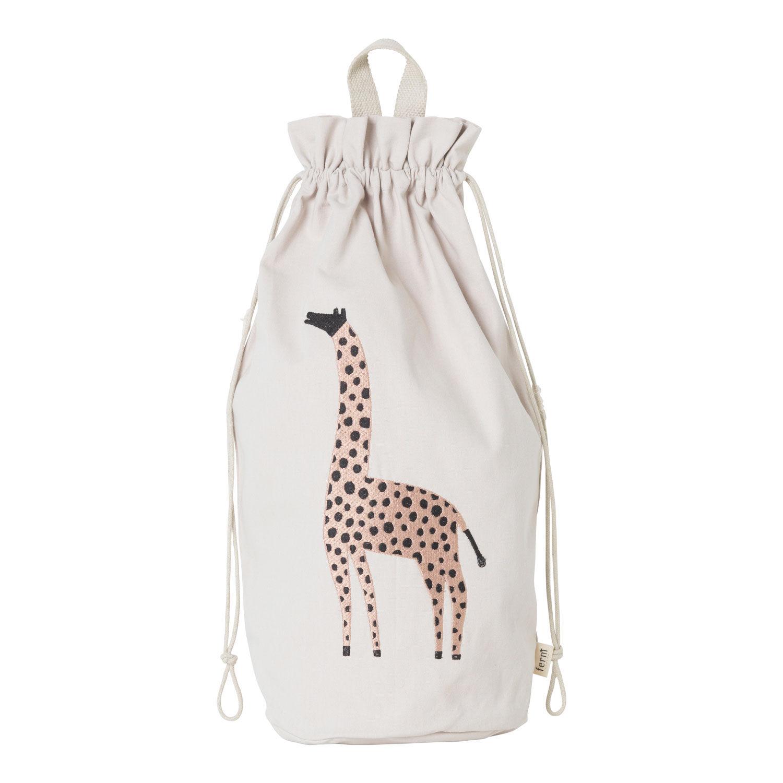 Ferm Living KIDS Safari Storage Bag, Giraffe