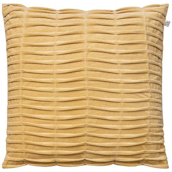 Chhatwal & Jonsson Rishi Cushion Cover 50x50 cm, Spicy Yellow