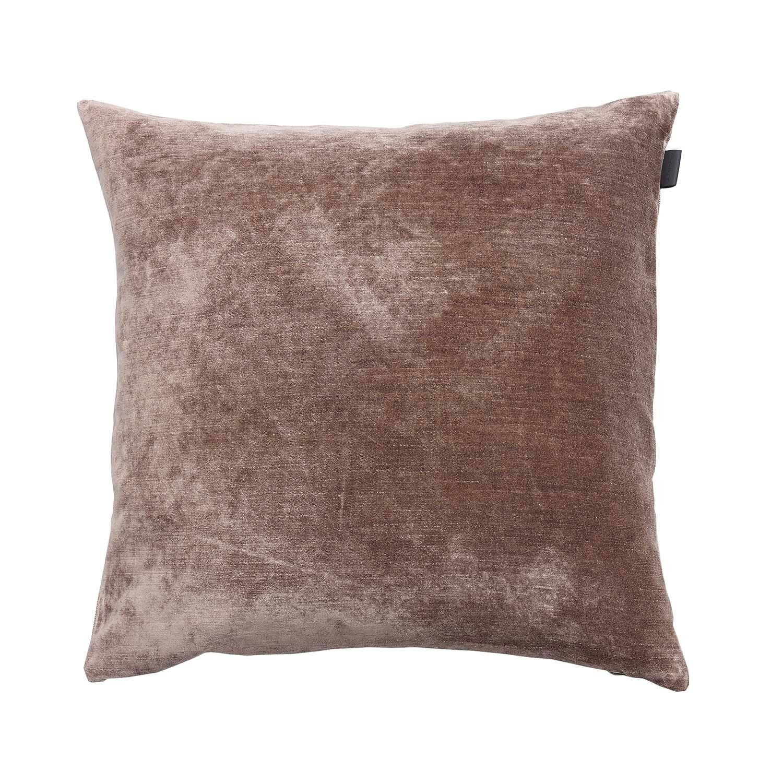 Gant Home Slub Velvet Cushion 50x50cm, Mole Grey
