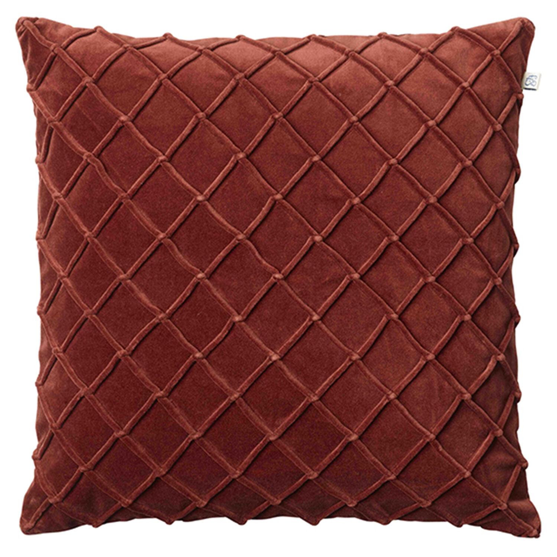 Chhatwal & Jonsson Deva Cushion Cover, Dark Chilli Red