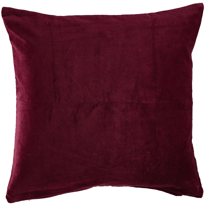 Gripsholm Ava Tyynynpäällinen, 50x50cm, Viininpunainen