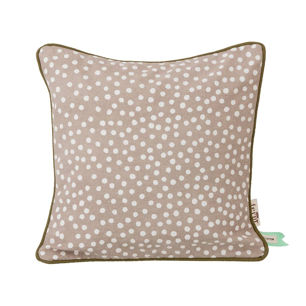Ferm Living KIDS Dots Cushion 30x30 cm, Grey