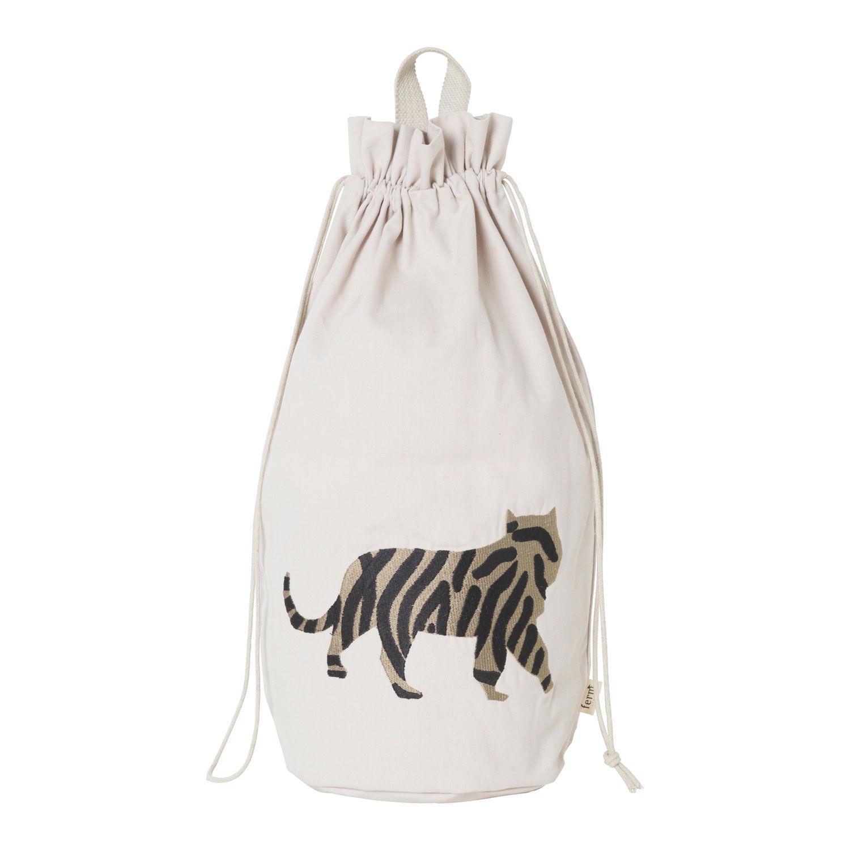 Ferm Living KIDS Safari Storage Bag, Tiger