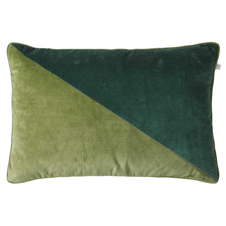 Chhatwal & Jonsson Pari Velvet Tyynynpäällinen 40x60cm, Cactus/Green