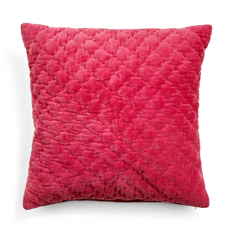 Day Home Velvet Quilted Tyynynpäällinen 50x50cm, X-Mas Kiss