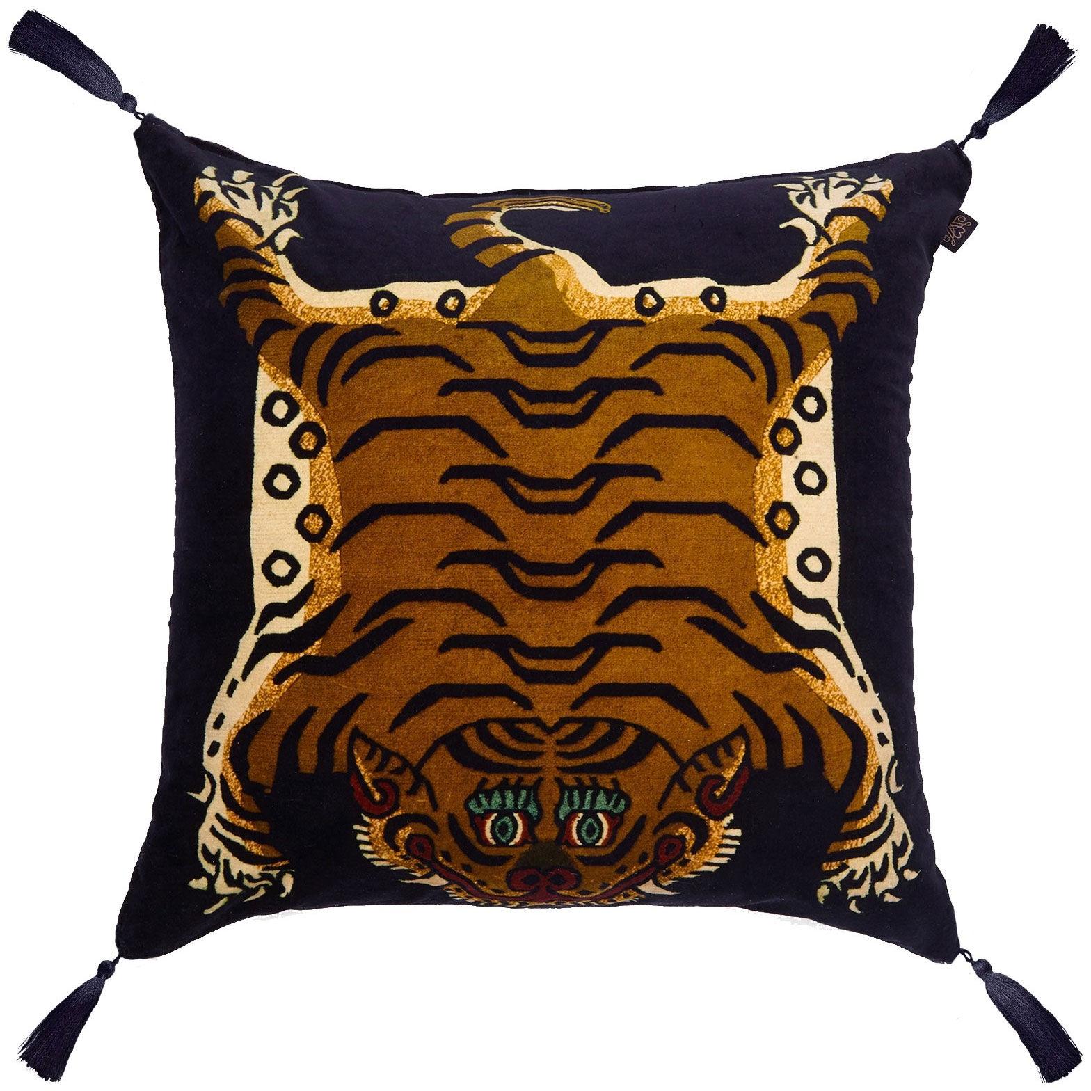 House of Hackney Saber Cushion Large, Midnight