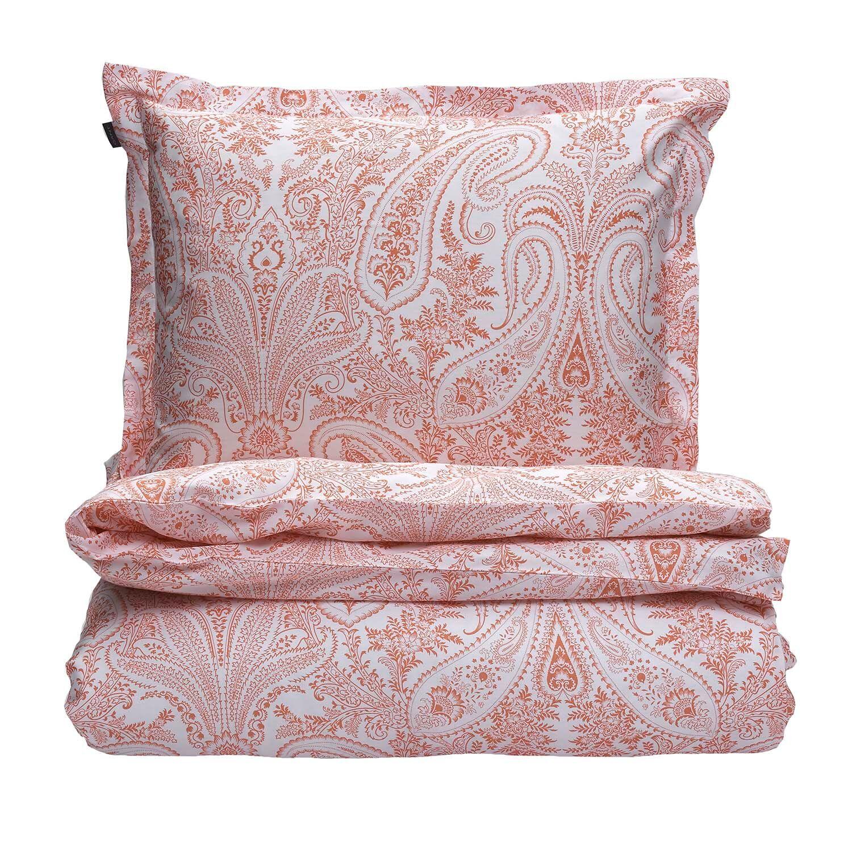 Gant Home Key Bed Set 220x220 cm, Coral Orange