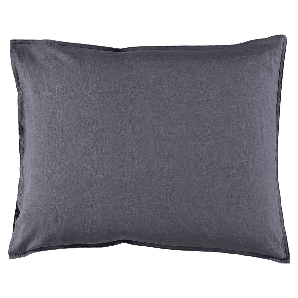 Gripsholm Washed Linen Pillowcase 50x60 cm, Ombre Blue