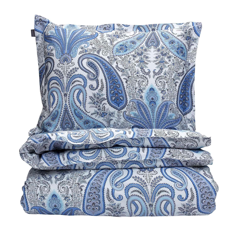 Gant Home Key West Paisley Duvet Cover 220x220 cm, Crystal Blue