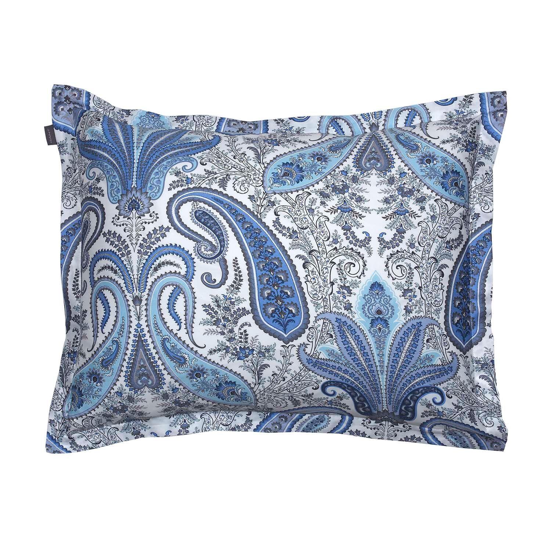 Gant Home Key West Paisley Pillowcase 50x60 cm, Crystal Blue