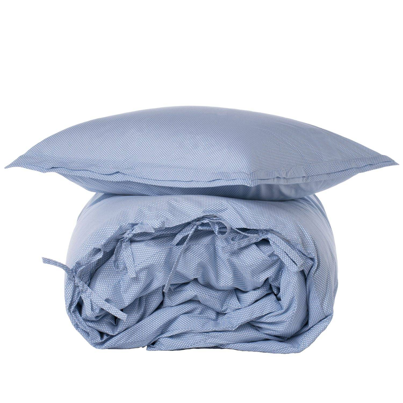 Mille Notti Circolo Pillowcase 50x60 cm, Light Blue