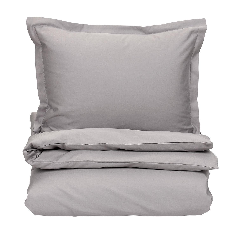 Gant Home Sateen Duvet Cover 220x220cm, Moon Grey