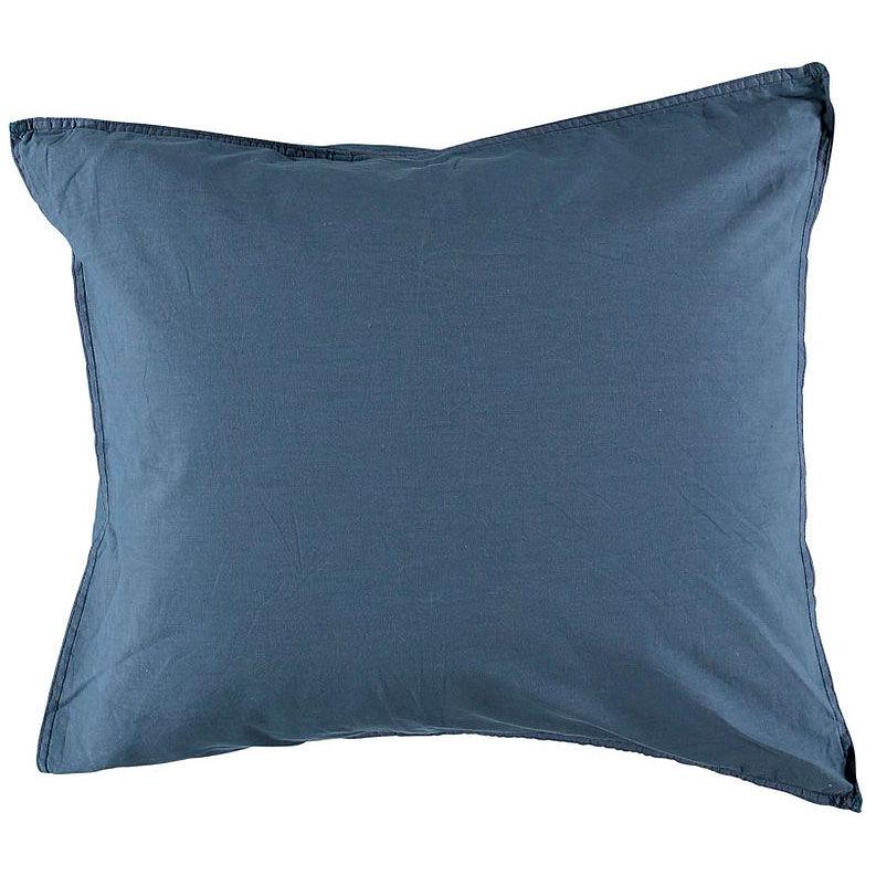 Gripsholm Vintage Gots Pillowcase 50x60 cm, Ombre Blue