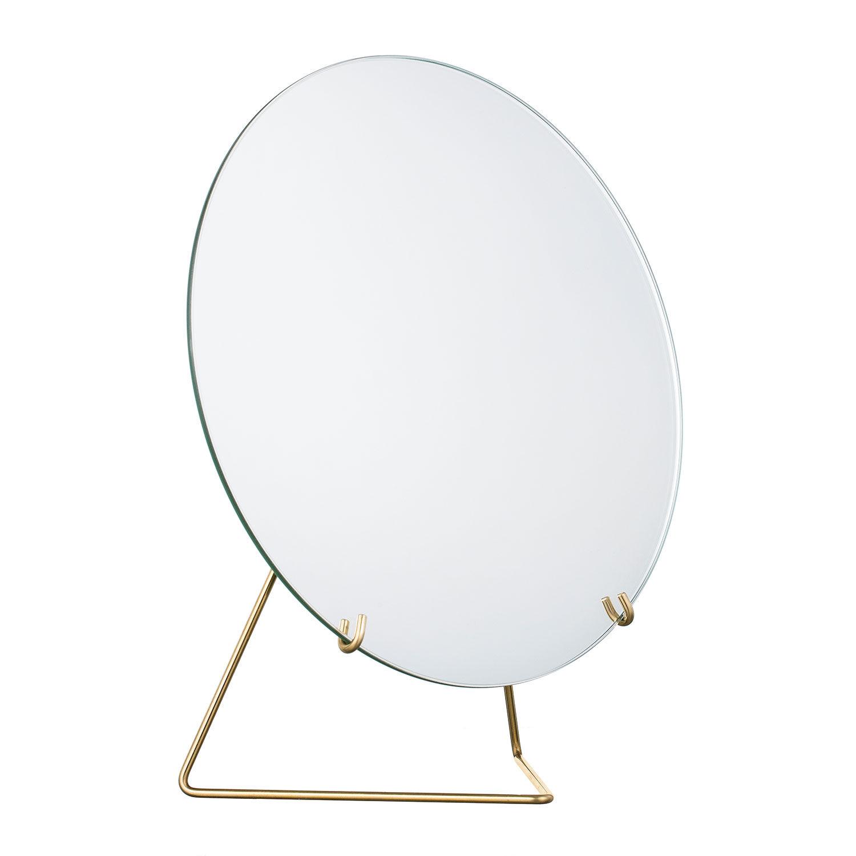 MOEBE Mirror Pöytäpeili Ø20, Messinki