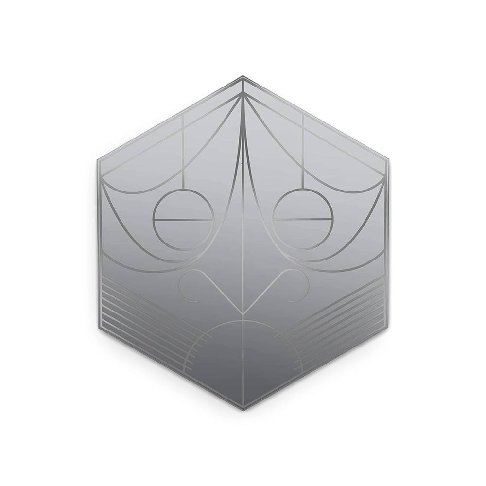 Petite Friture Mask Seinäpeili, Hexagon