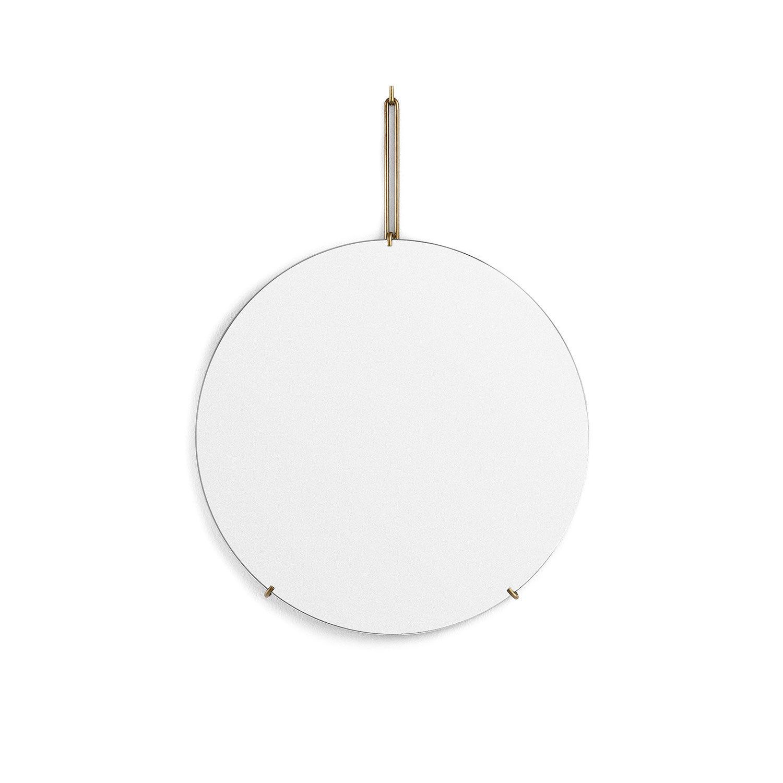 MOEBE Wall Mirror, Brass