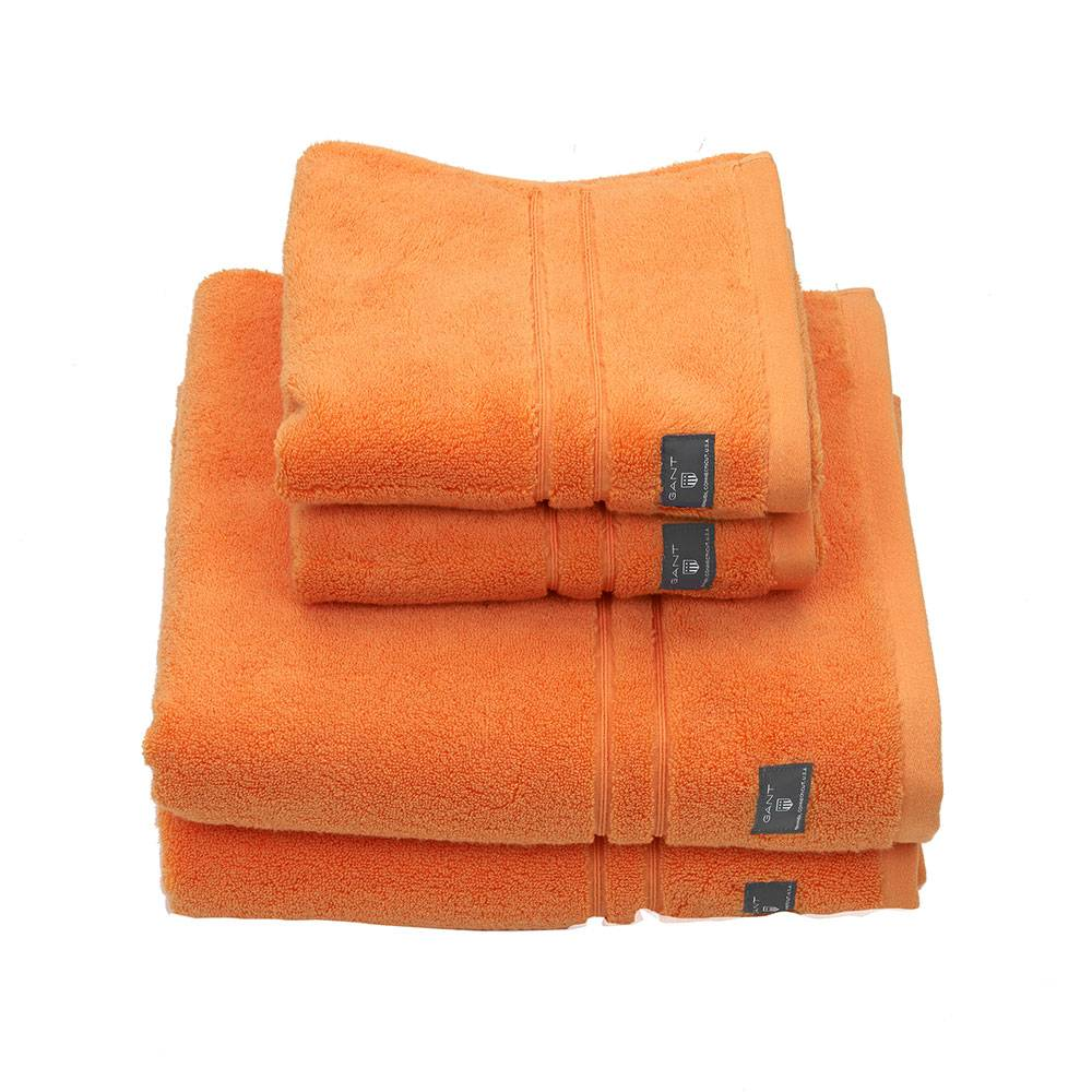 Gant Home Premium Terry Pyyheliina 50x30cm, Tangerine