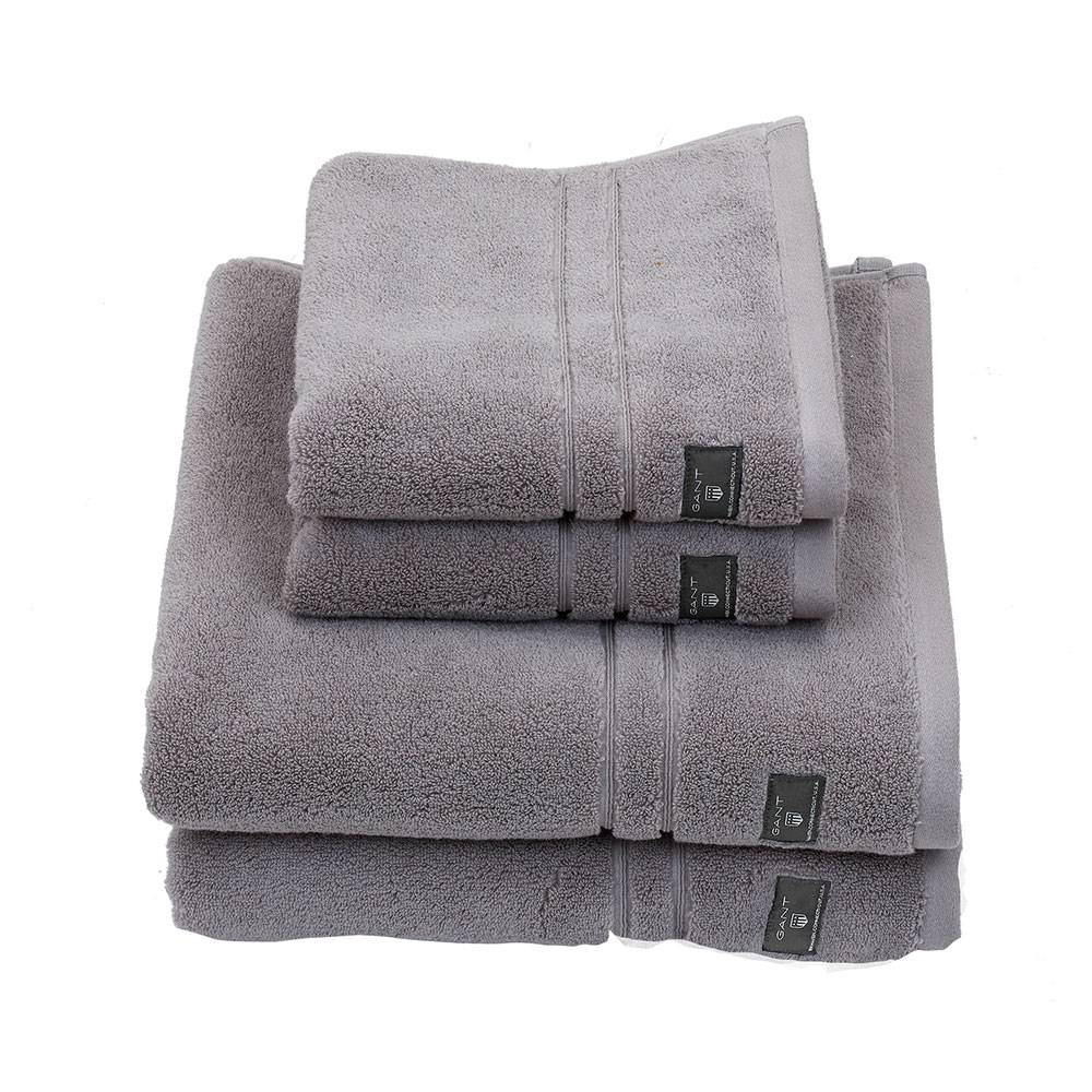 Gant Home Premium Terry Pyyheliina 70x50cm, Sheep Grey