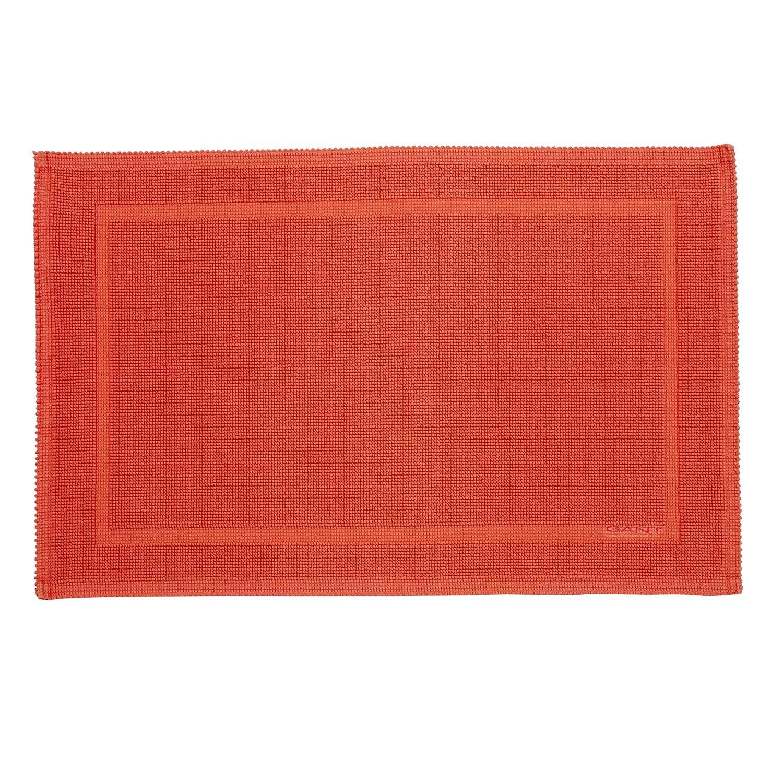 Gant Home Bathroom Rug 60x90 cm, Coral Orange