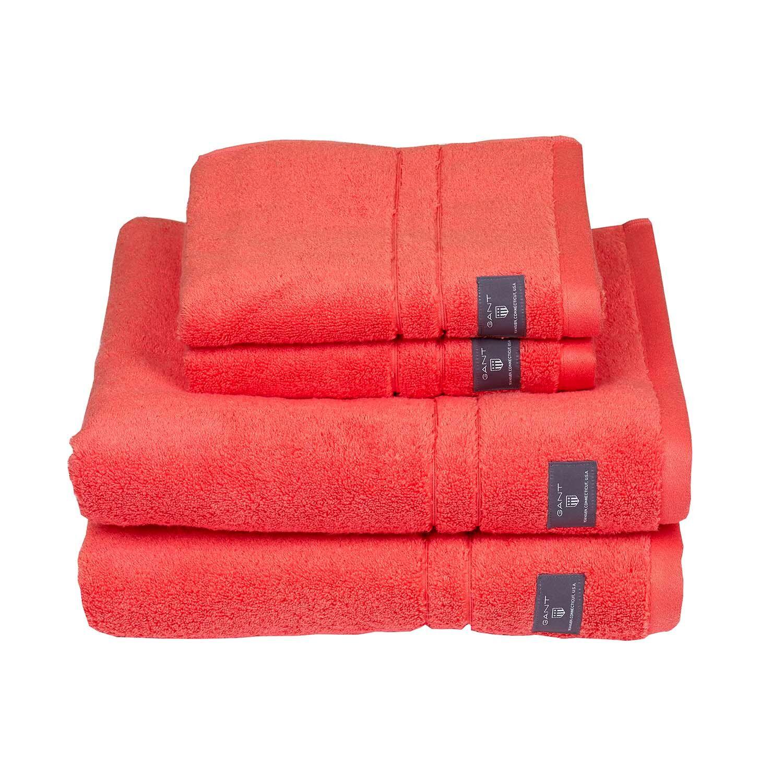 Gant Home Premium Towel 30x50 cm, Coral Orange