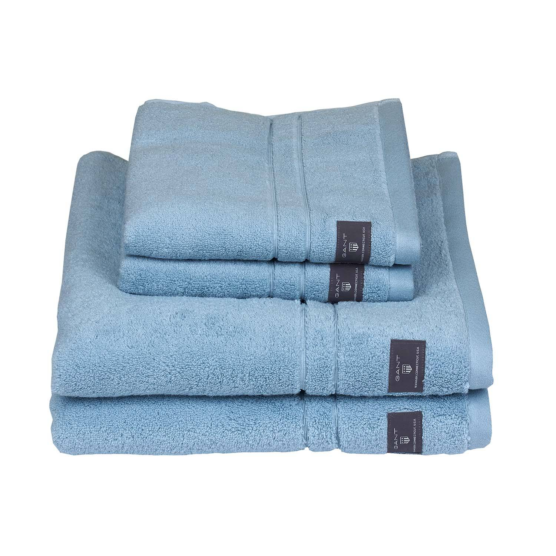 Gant Home Premium Towel 50x70 cm, Crystal Blue