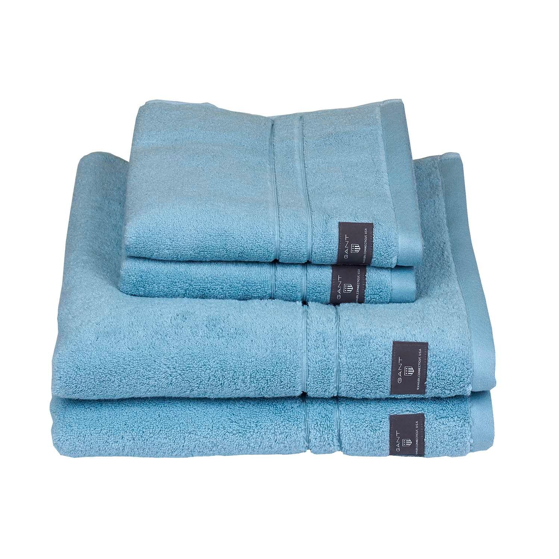 Gant Home Premium Towel 30x50 cm, Crystal Blue