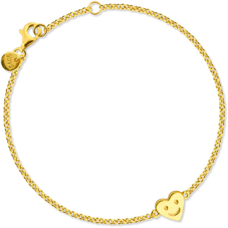 Sophie by Sophie Happy Heart Bracelet, Gold