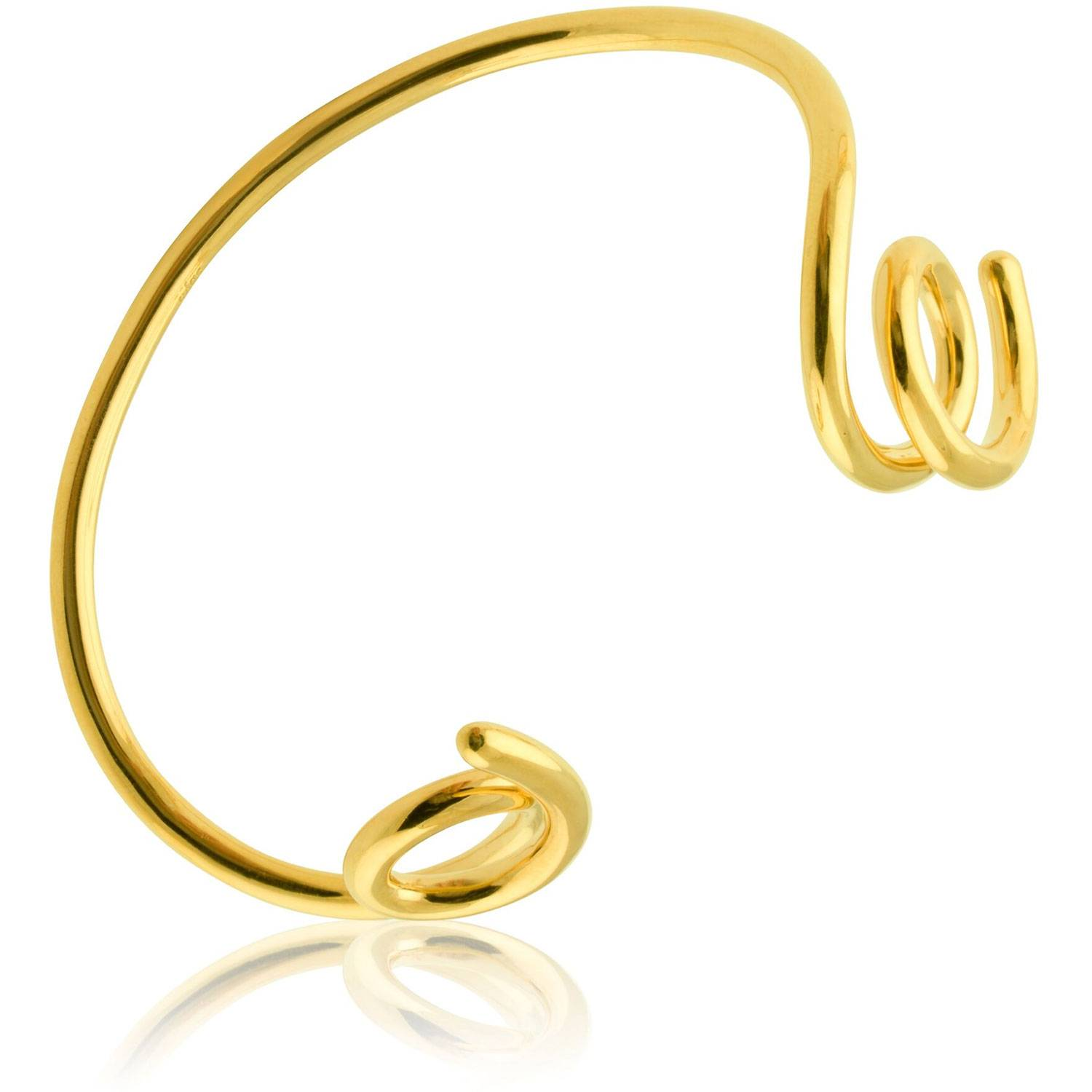 Sophie by Sophie Loopy Cuff, Gold