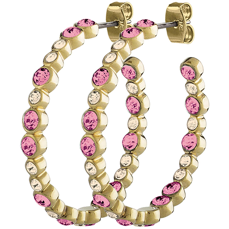 Dyrberg/Kern Nandita Earrings, Shiny Gold/Rose