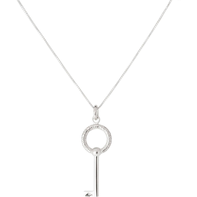 Emma Israelsson Key Necklace 40 cm, Silver