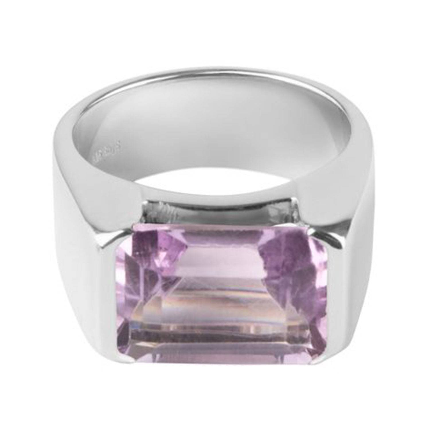 Sophie by Sophie Emerald-cut Ring, Silver