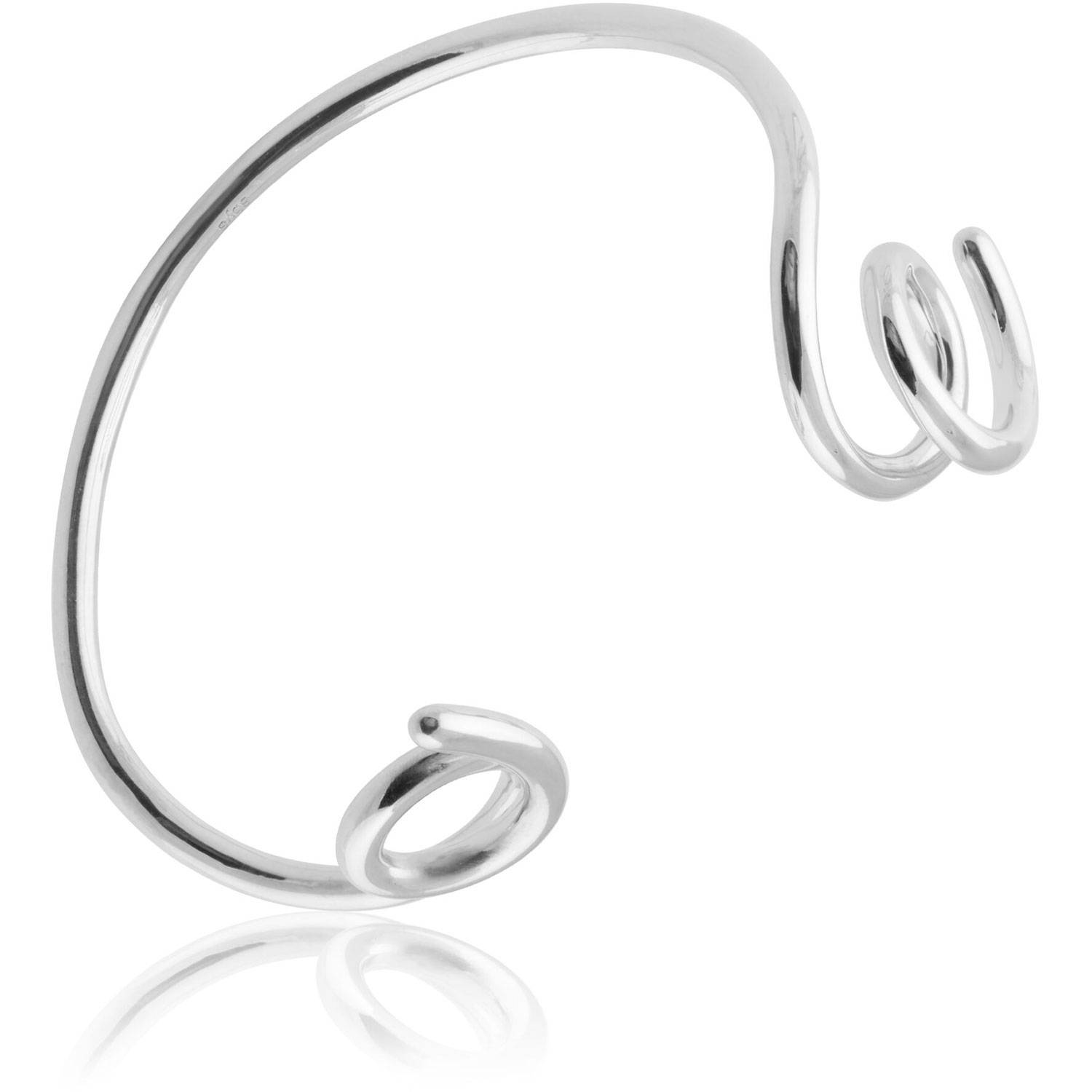 Sophie by Sophie Loopy Cuff, Silver