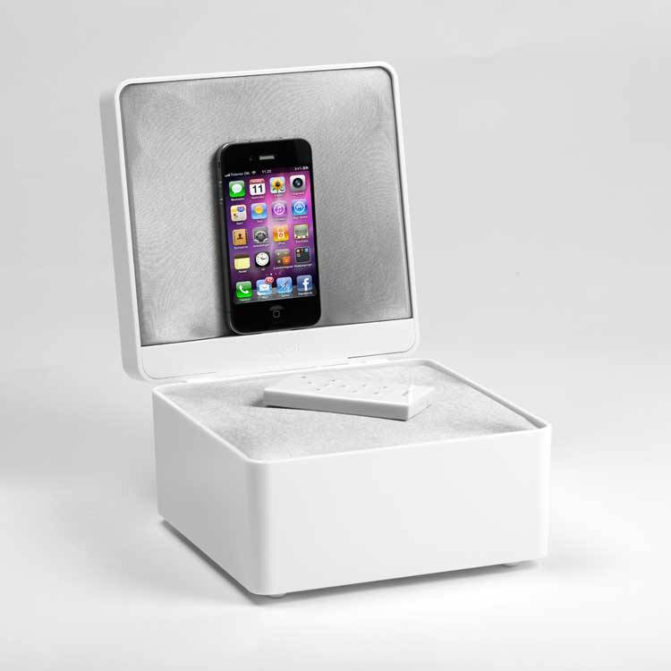 Tangent Pearl Box, valkoinen