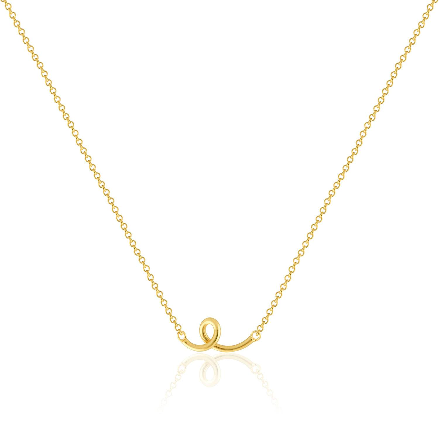 Sophie by Sophie Loopy Necklace, Gold