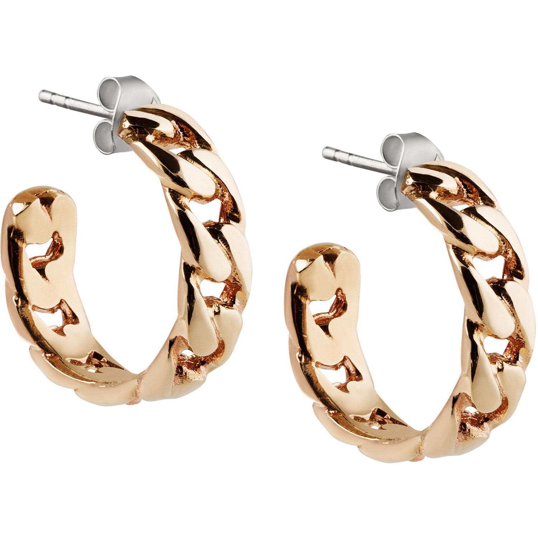 Emma Israelsson Link Earrings, Gold