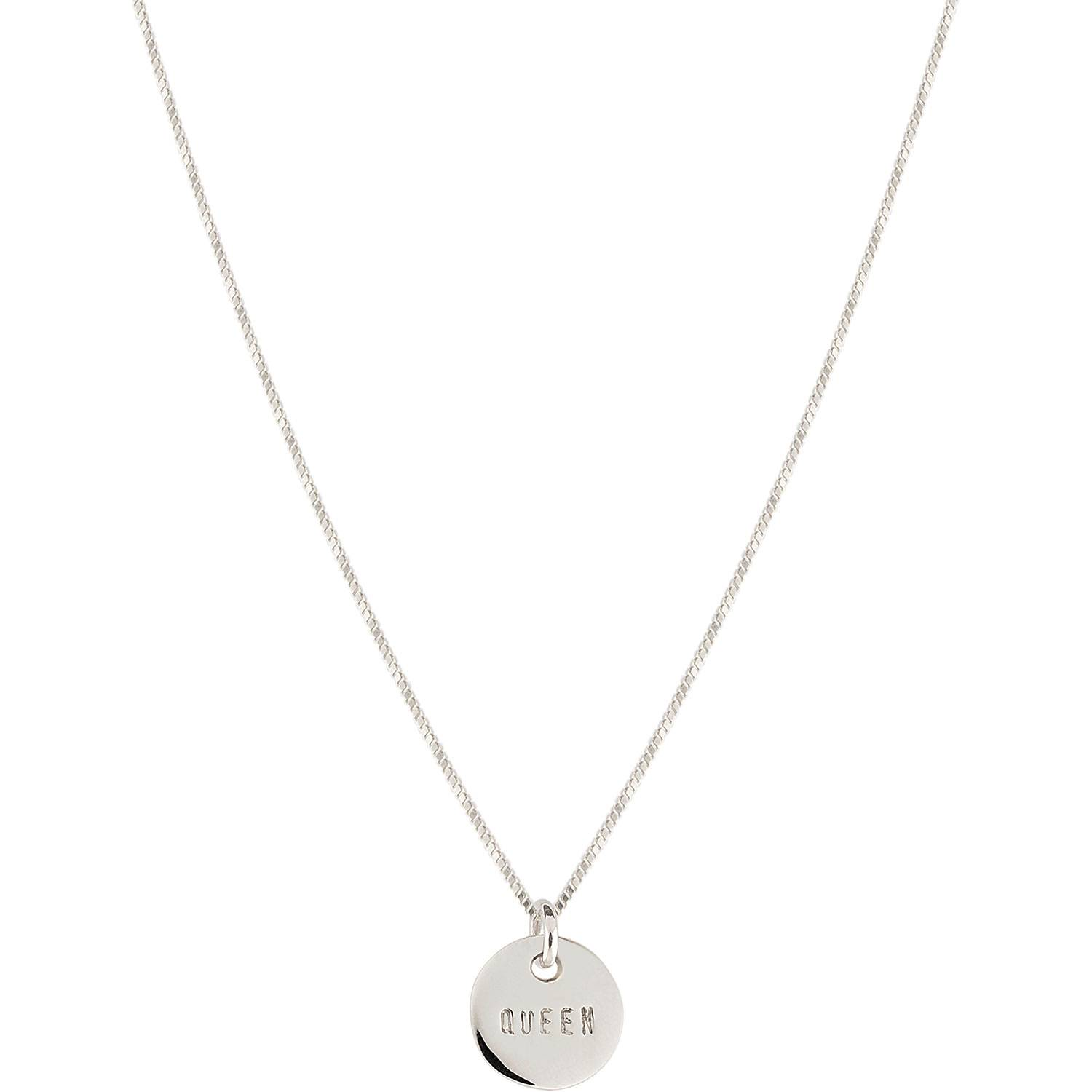 Emma Israelsson Queen Coin Necklace 40 cm, Silver