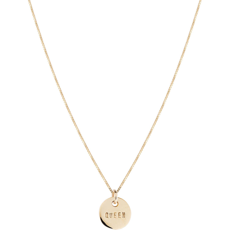 Emma Israelsson Queen Coin Necklace 40 cm, Bronze