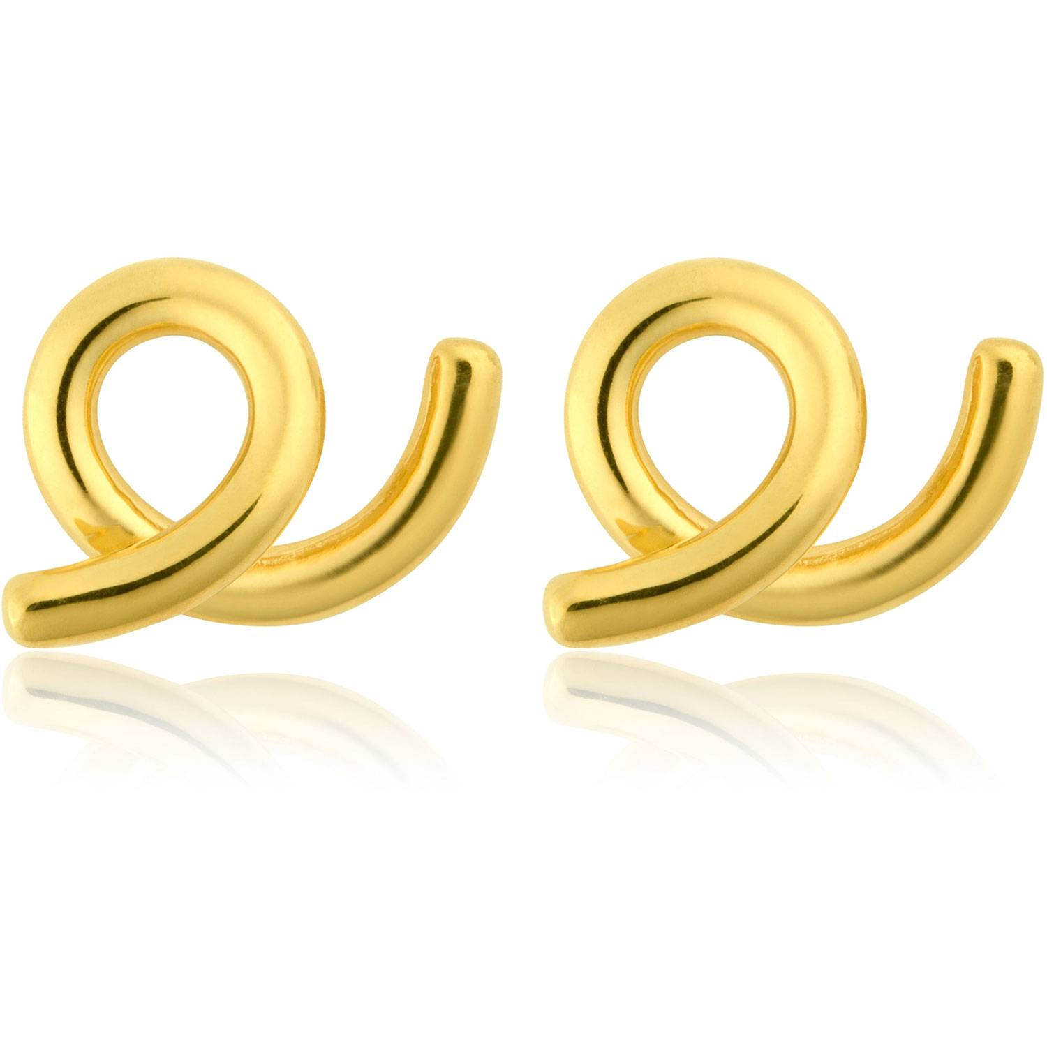 Sophie by Sophie Loopy Earrings Small, Gold