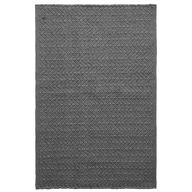Chhatwal & Jonsson Pani Matto 80x50cm, Charcoal Grey