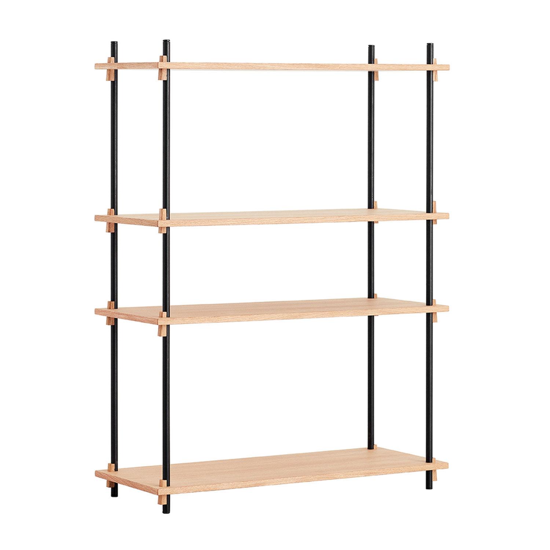 MOEBE Shelving System Shelf Medium Single, Oak